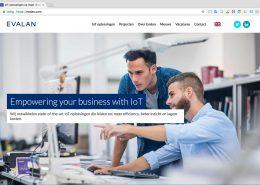 01 Website Evalan - Startpagina