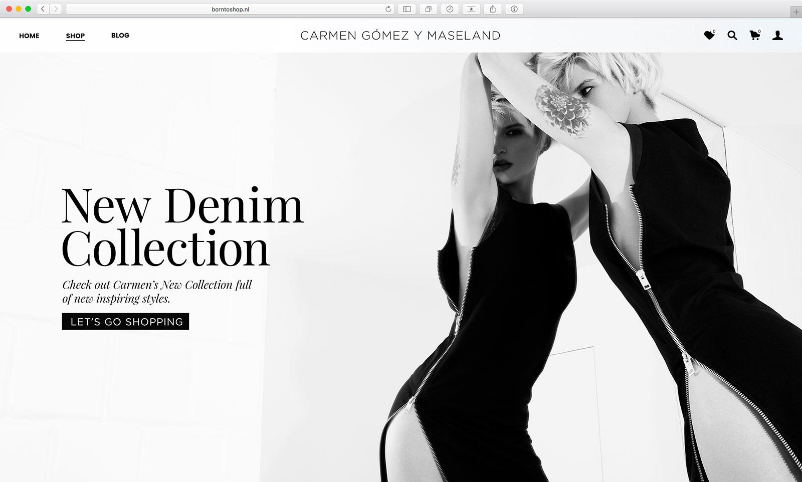 Voorstel Ontwerp Website Carmen Gómez Y Maseland
