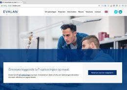 02 Website Evalan - Startpagina