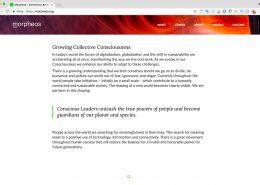 02 Website Morpheos - Startpagina