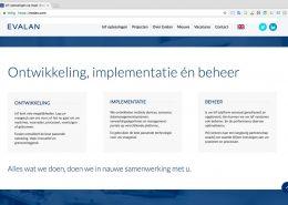 03 Website Evalan - Startpagina