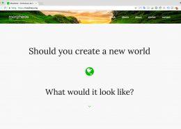 04 Website Morpheos - Startpagina
