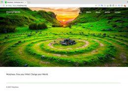 05 Website Morpheos - Startpagina