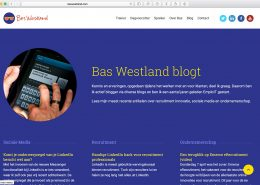 06 Website Bas Westland - Bas Blogt