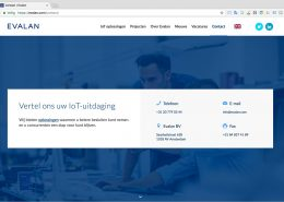 09 Website Evalan - Pagina - Contact