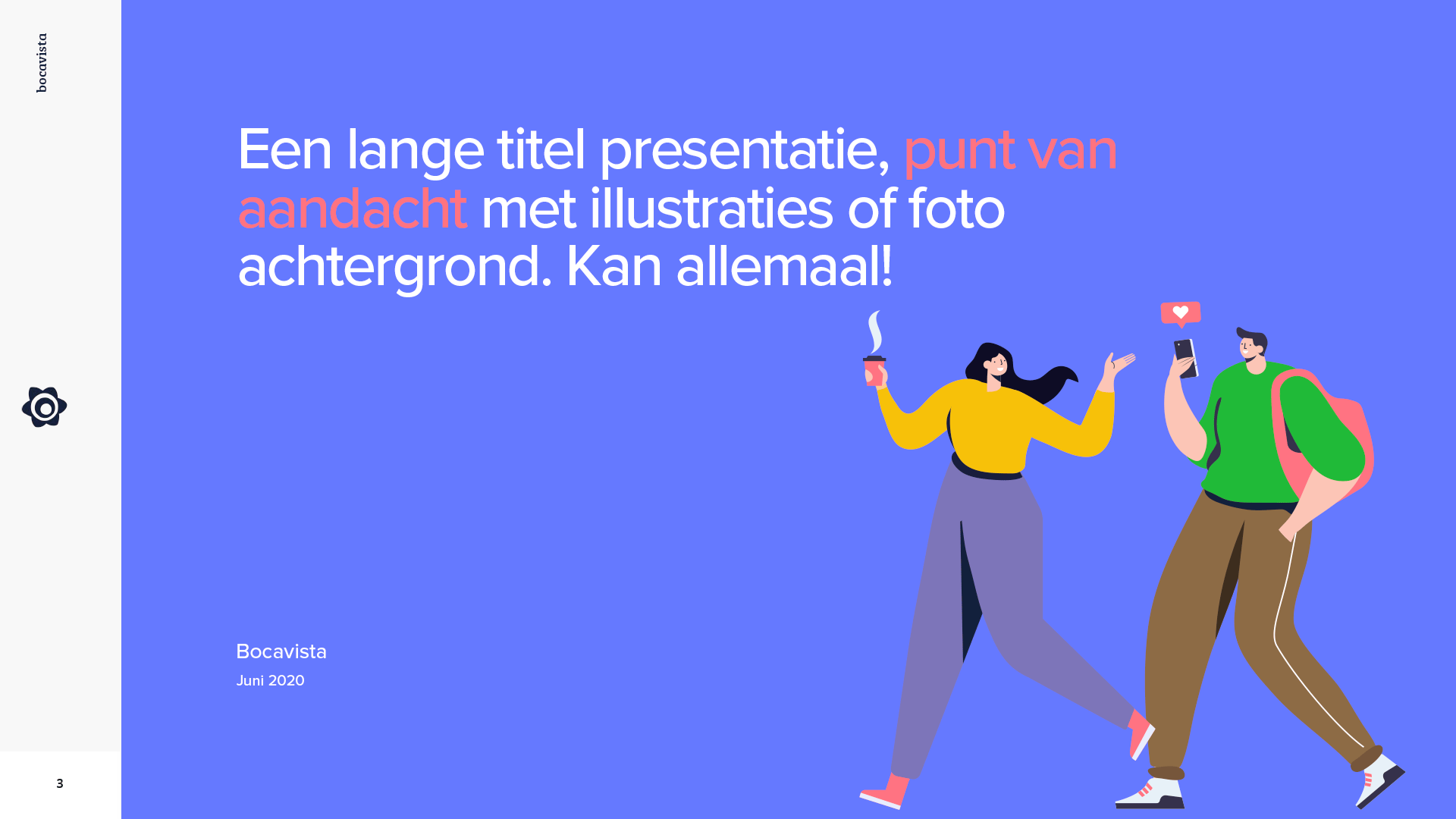 Impressie PowerPoint presentatie Bocavista