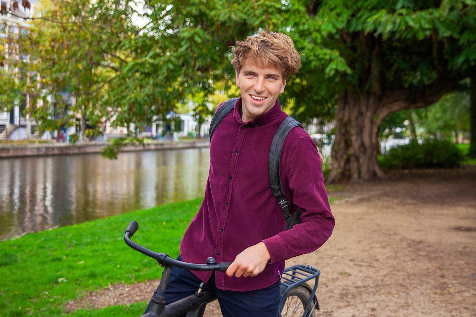 Portret Jorik Brugman Thuis Vitaal