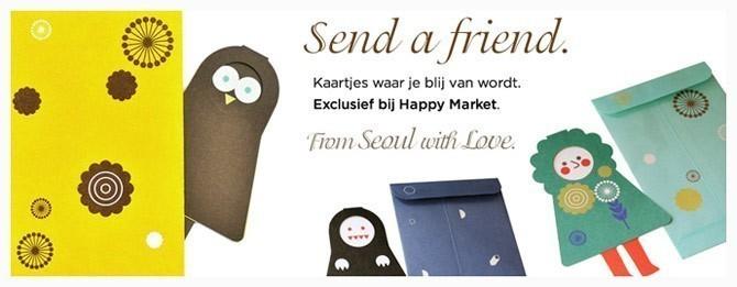 Happy Market homepage lider print & paper