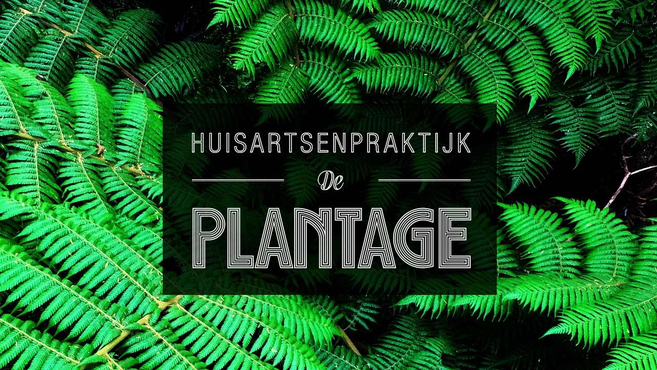 Logo Website en Fotografie Huisartsenpraktijk De Plantage