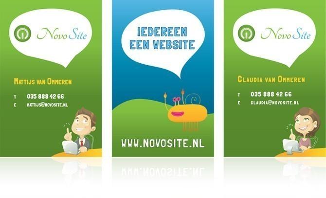 Visitekaartjes NovoSite