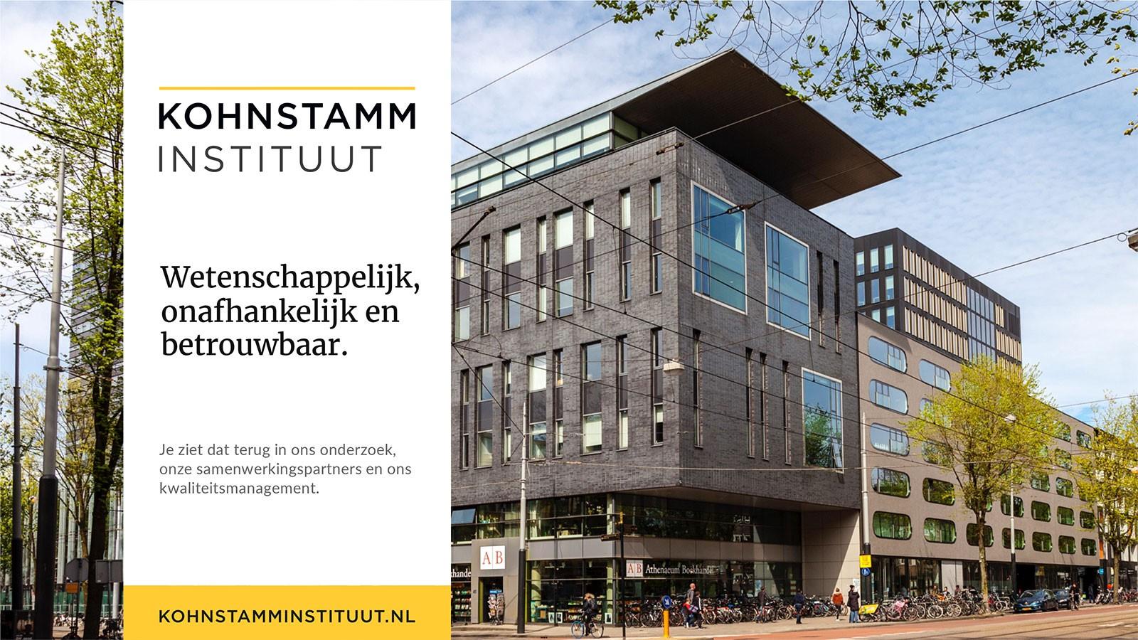 Voorbeeld PowerPoint Presentatie Kohnstamm Instituut - Startpagina