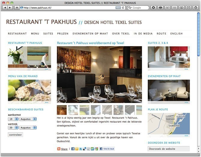 focus op restaurant 't Pakhuus
