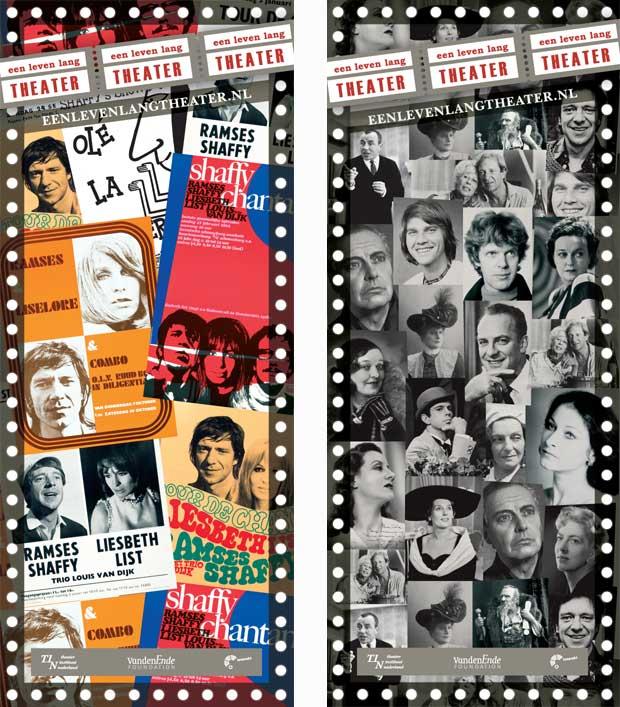 TIN Banners ter promotie website Een Leven Lang Theater