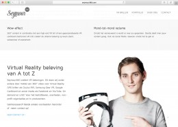 Ontwerp responsive website voor Seymour360, gemaakt met WordPress