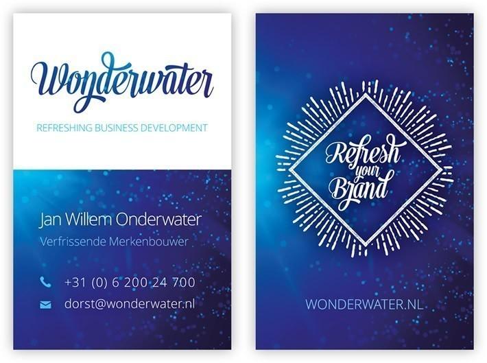 Visitekaartje Jan Willem Onderwater