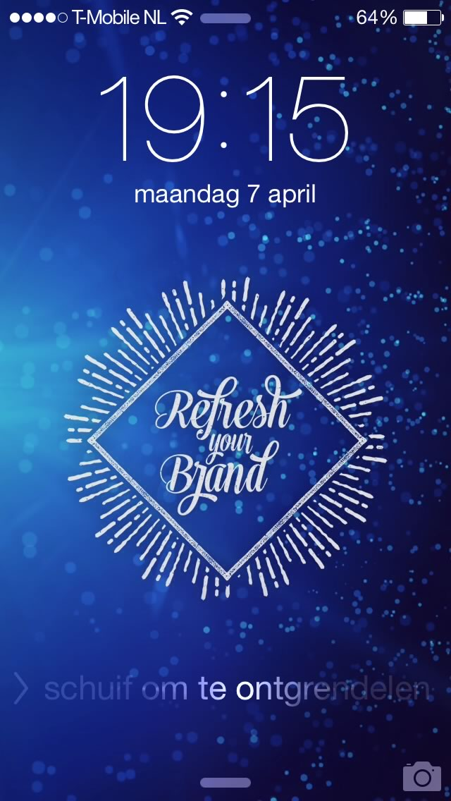iPhone Wallpaper voor Wonderwater