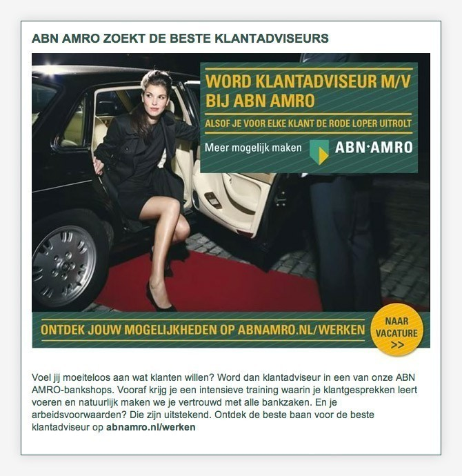 mailing ABN AMRO Bank