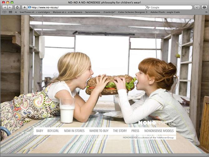 startpagina website NONO