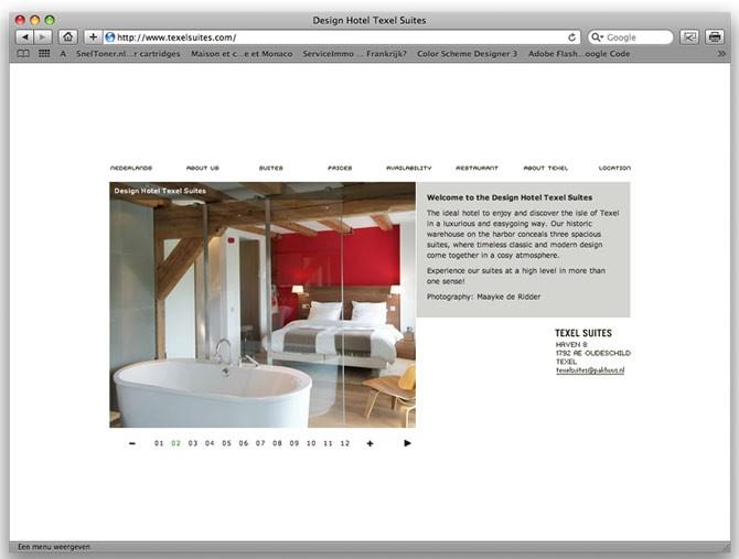 focus op Design Hotel Texel Suites