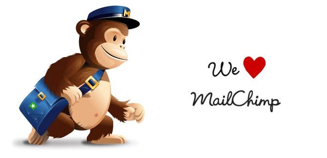 We ♥ Mailchimp